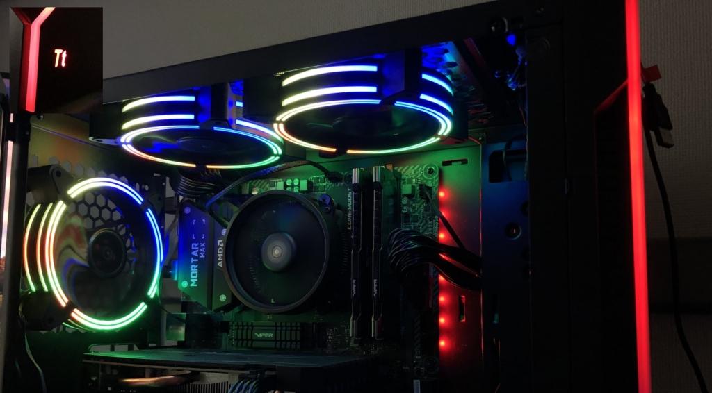H200TG RGB PCケースの画像
